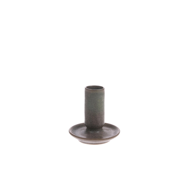 HK Living | Ceramic Candle Holder M Brown | House of Orange Melbourne