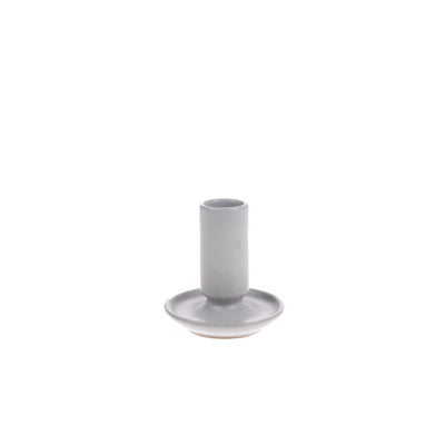 HK Living | Candle Holder | Ceramic Medium Grey | HK Living | House of Orange Melbourne