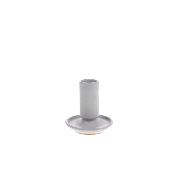 HK Living | Ceramic Candle Holder M Grey | House of Orange Melbourne