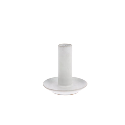 HK Living | Ceramic Candle Holder L White | House of Orange Melbourne