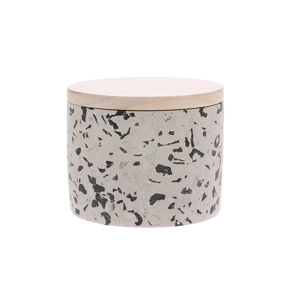 HK Living | Soy Candle | Terrazzo Medium Coconut Flower | HK Living | House of Orange Melbourne