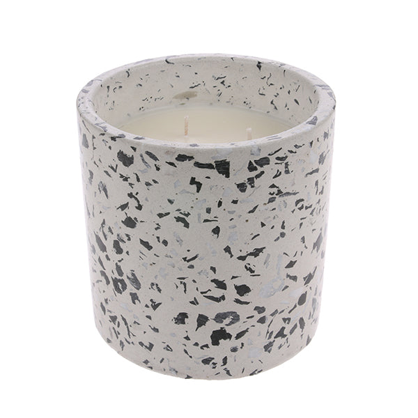 HK Living | Terrazzo Soy Candle L: Coconut Flower | House of Orange Melbourne