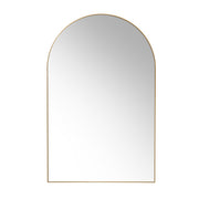 Arch Wall Mirror Brass - House of Orange