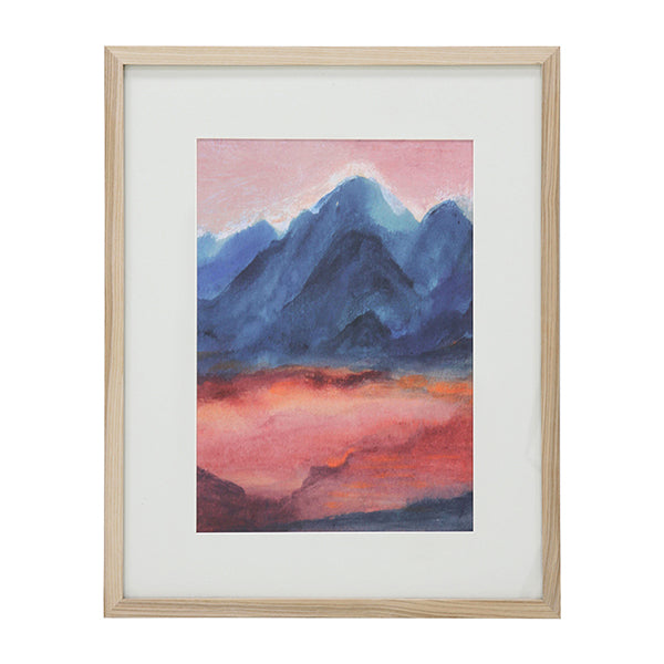 Tiny Art Frame L Sunset