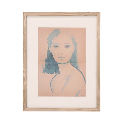 HK Living | Art Frame | by artist 'Tiny' Medium Aimee | HK Living | House of Orange Melbourne