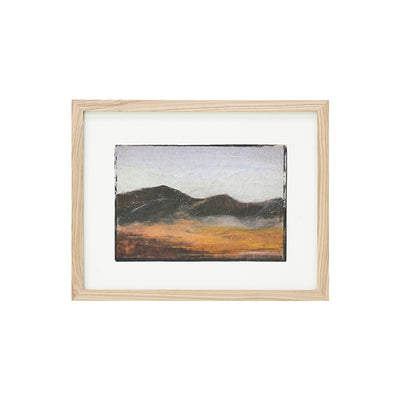 HK Living | Art Frame | by artist 'Tiny' Small Mountains | HK Living | House of Orange Melbourne