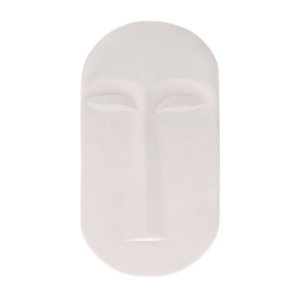 HK Living | Mask Wall Ornament L Matt White | House of Orange Melbourne
