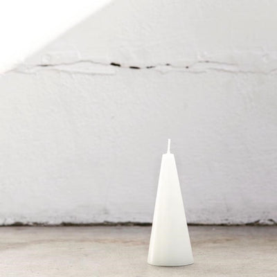 Cone Candle Warm white Small