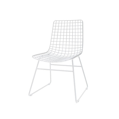 HK Living | Dining Chair | Metal Wire White | HK Living | House of Orange Melbourne