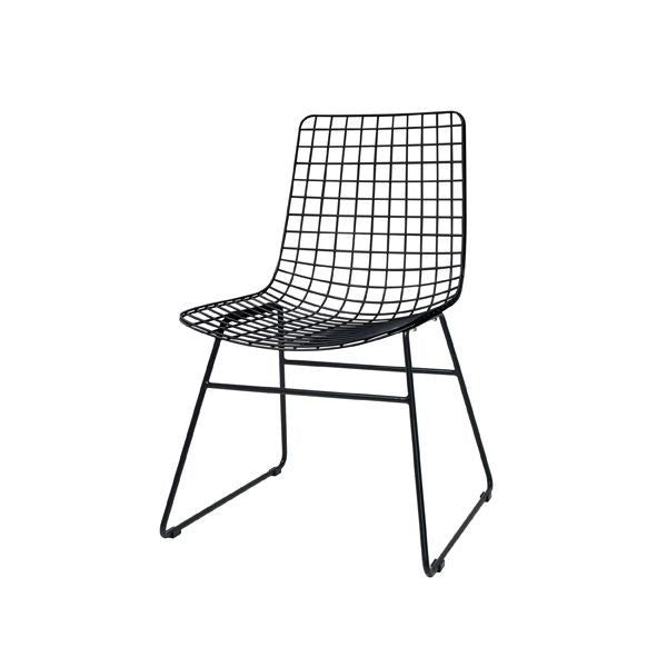 HK Living | Dining Chair | Metal Wire Black | HK Living | House of Orange Melbourne