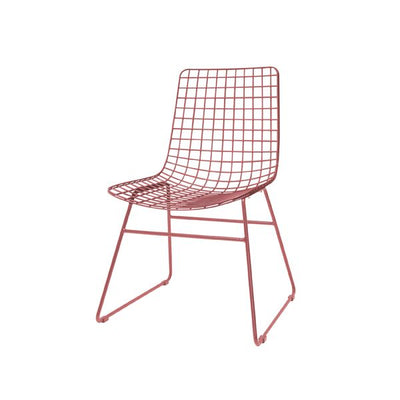 HK Old | Metal Wire Chair Marsala | House of Orange Melbourne