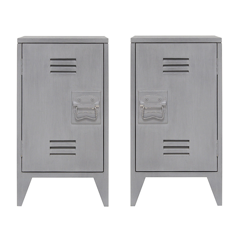HK Living | Bedside Table Grey, set of 2 | House of Orange Melbourne