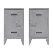 HK Living | Bedside Locker | Grey (Set of 2) | HK Living | House of Orange Melbourne