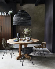 HK Living | Round teak table | House of Orange Melbourne