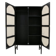 HK Living | Retro Webbing Wardrobe Black | House of Orange Melbourne