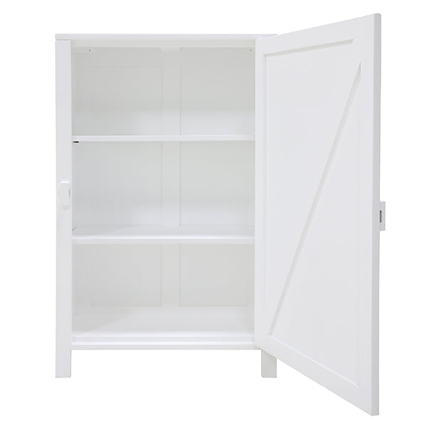 HK Living | Single Door Cabinet White | House of Orange Melbourne
