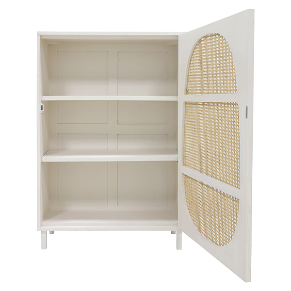 HK Living | Cabinet | Webbing Single Door White | HK Living | House of Orange Melbourne