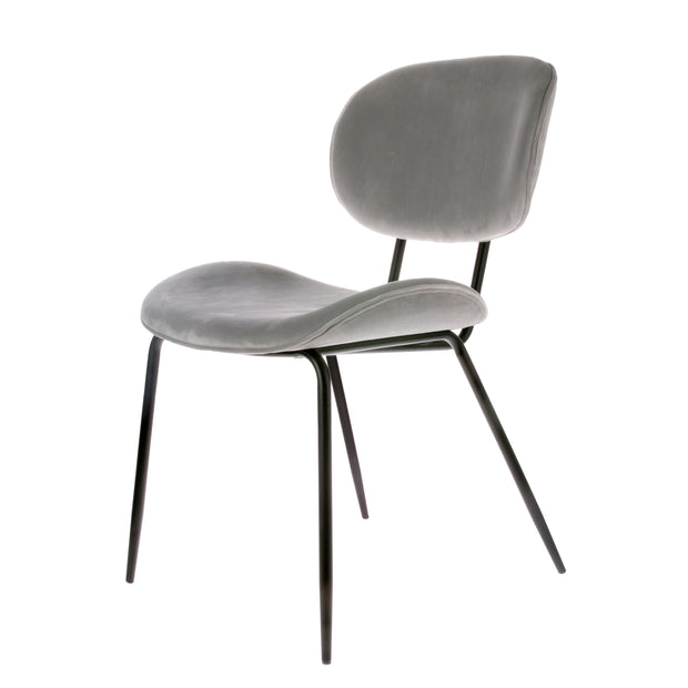 HK Living | Velvet Dining Chair Cool Grey | House of Orange Melbourne