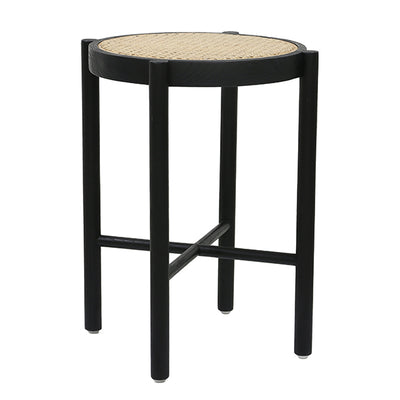 Stool | Retro Webbing Black | HK Living