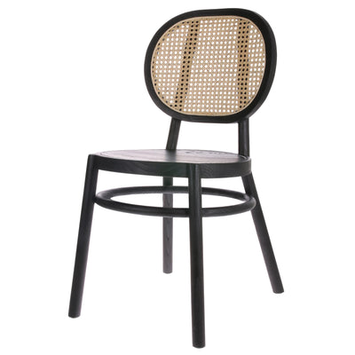 HK Living | Retro Dining Chair | Webbing Black | HK Living | House of Orange Melbourne