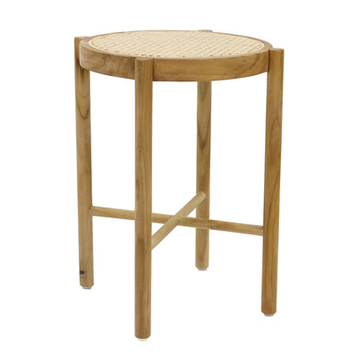 HK Living | Retro Webbing Stool Natural | House of Orange Melbourne