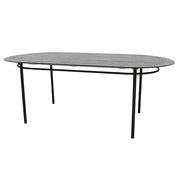HK Living | Oval Dining Table Black | House of Orange Melbourne