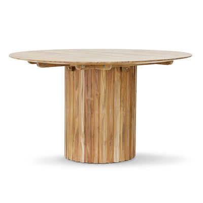 HK Living | Pillar Dining Table Round Teak Natural | House of Orange Melbourne