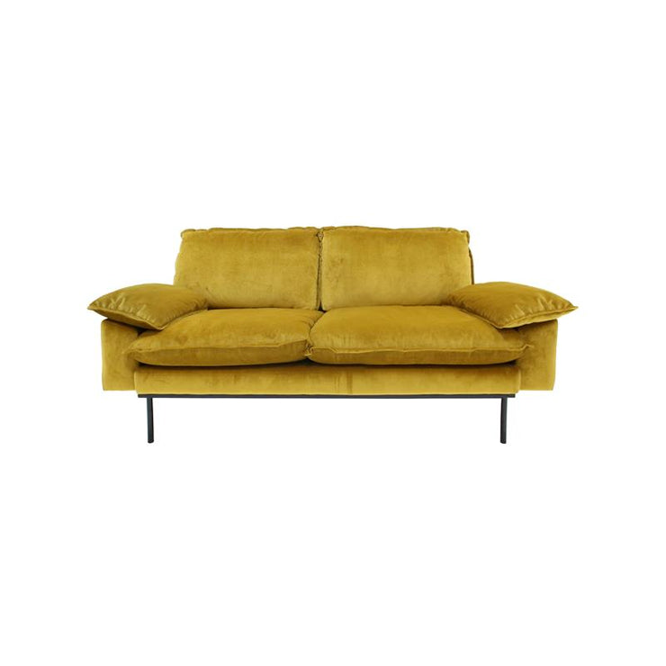 HK Living | Sofa | Retro 2-seater Ochre | HK Living | House of Orange Melbourne