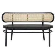 HK Living | Retro Webbing Bench Black | House of Orange Melbourne