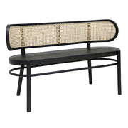 HK Living | Bench | Retro Webbing Black | HK Living | House of Orange Melbourne
