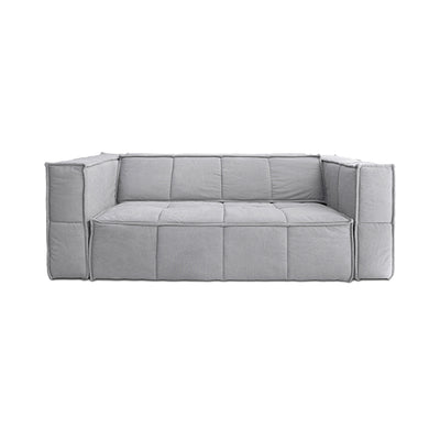 HK Living | Cube Couch 3 Seats Canvas Light Grey | House of Orange Melbourne