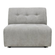 HK Living | Vint Couch Element B Corduroy Rib Grey/Creme | House of Orange Melbourne