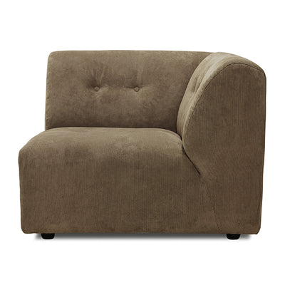 Vint Couch Element C Corduroy Rib Brown