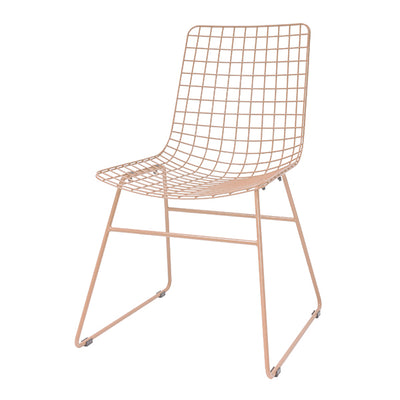 HK Living | Dining Chair | Metal Wire Peach | HK Living | House of Orange Melbourne