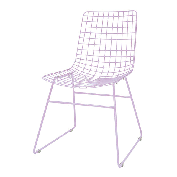 HK Living | Dining Chair | Metal Wire Lilac | HK Living | House of Orange Melbourne