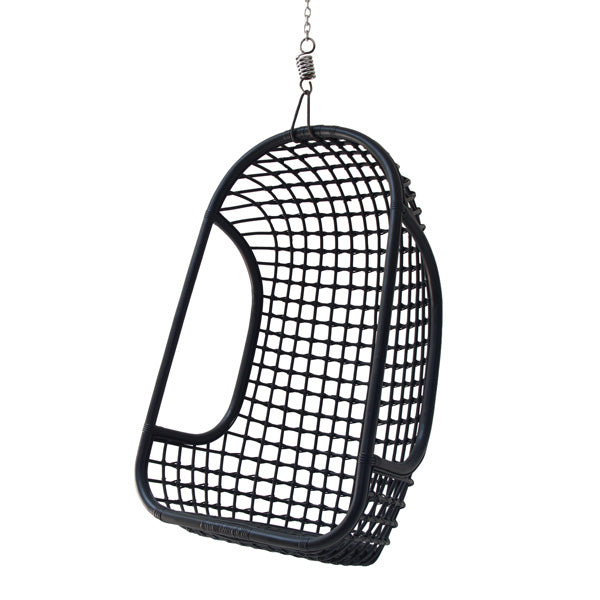 HK Living | Hanging Chair | Rattan Black | HK Living | House of Orange Melbourne