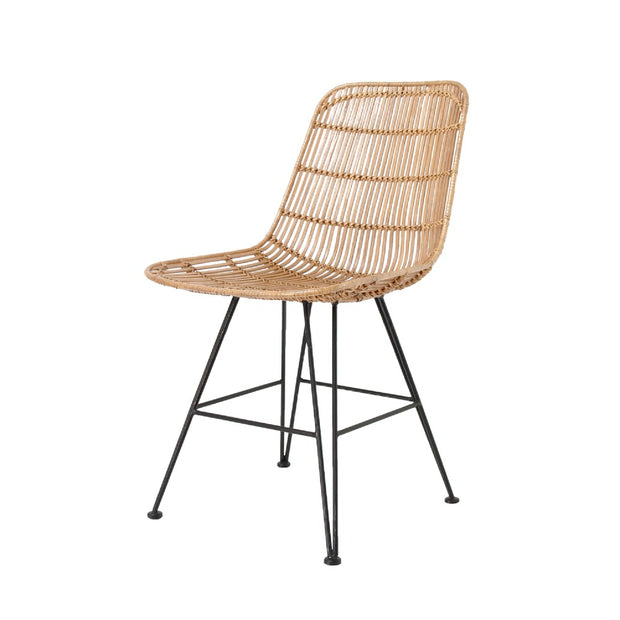 Rattan Dining Chair Natural - House of Orange