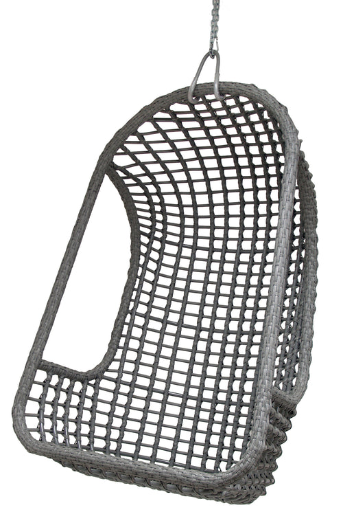 Outdoor Hanging Chair Grey