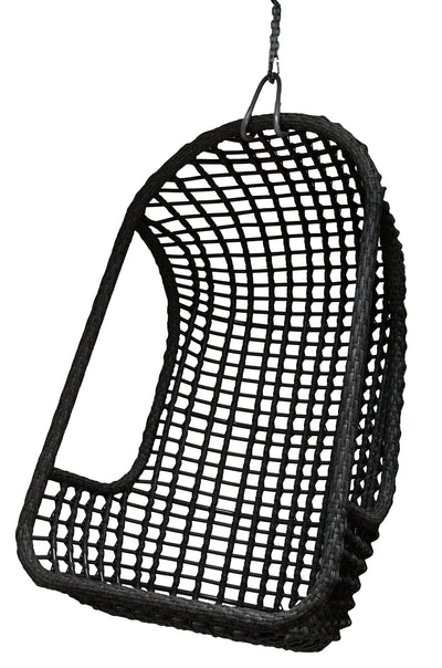 HK Living | Outdoor Hanging Chair Black | House of Orange Melbourne