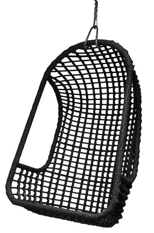 Outdoor Hanging Chair Black