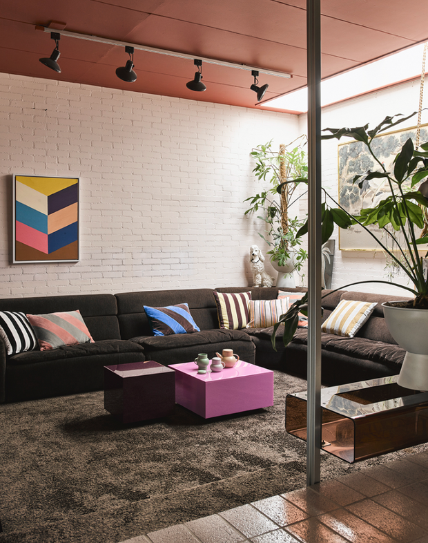HK Living | Art frame Painting Colourful Strokes | House of Orange Melbourne