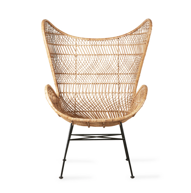 HK Living | Rattan Egg Chair Natural - Bohemian | House of Orange Melbourne