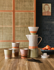 HK Living | Ceramic 70's Mug: Mars | House of Orange Melbourne