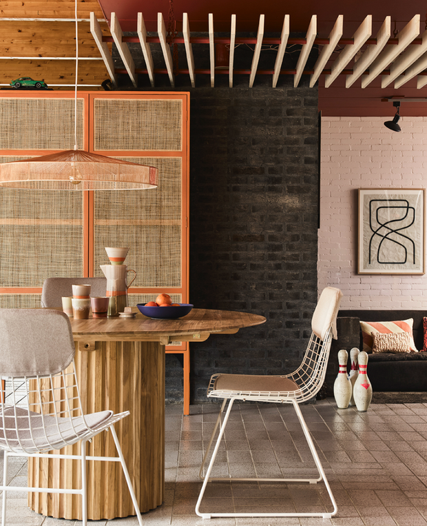 HK Living | Pendant Rope Lamp Terra Shades | House of Orange Melbourne