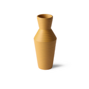 HK Living | Ceramic Flower Vase Ochre | House of Orange Melbourne