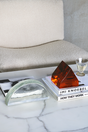 HK Living | Glass Object Clear L | House of Orange Melbourne