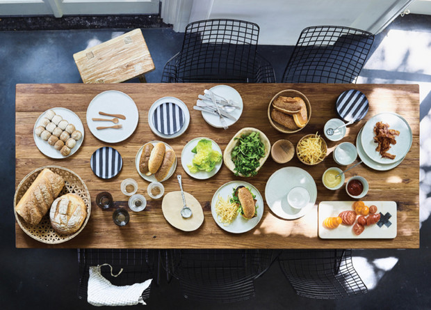 HK Living | Ceramic Breakfast Plate | House of Orange Melbourne