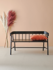 Garden bench black - House of Orange