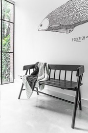 HK Living | Garden bench black | House of Orange Melbourne