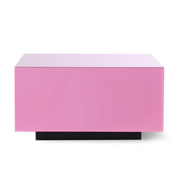 HK Living | Mirror Block Table Pink L | House of Orange Melbourne